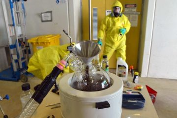 The nationwide outbreak of meth laboratories